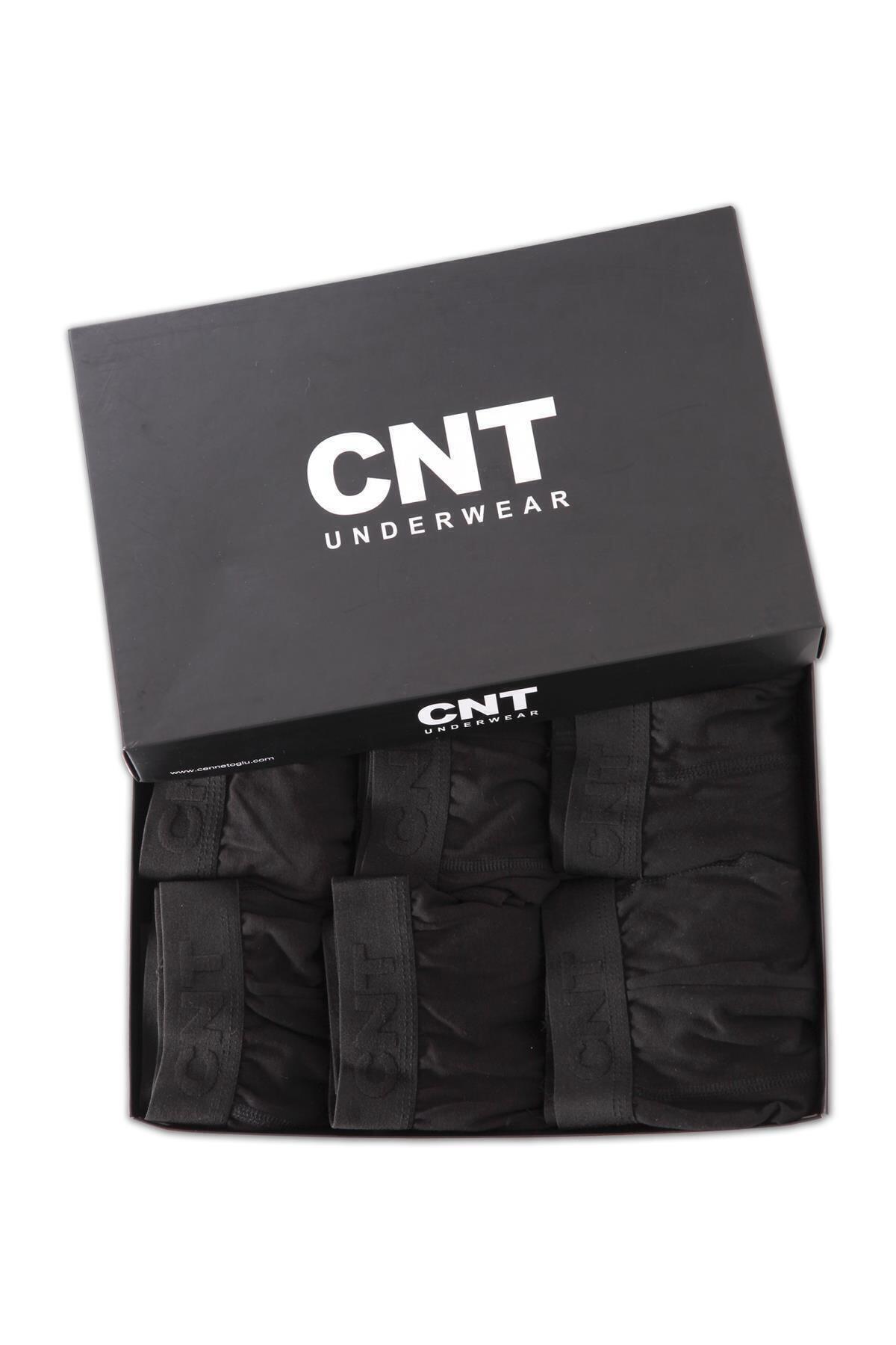 CNT Erkek Boxer Likralı 6'lı Premium Paket 1