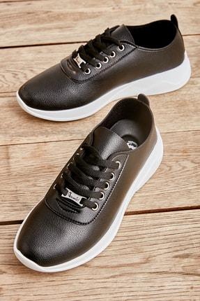 Bambi Siyah Kadın Sneaker K01543100009