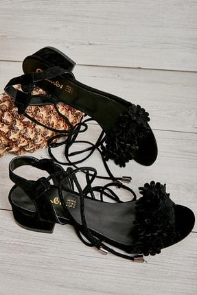 Bambi Sıyah Kadın Açık Ayakkabı L0503722072
