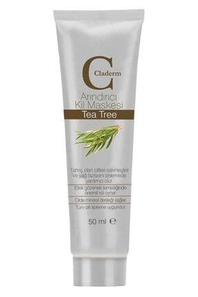 Claderm 50 ml Kil Maskesi – Tea Tree