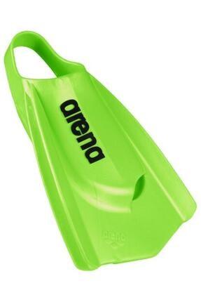 ARENA Unisex Yeşil Power Fın Pro Yüzme Ayak Paleti
