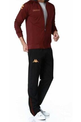 Kappa Erkek Bordo Hestia Model Dalgıç Kumaş Eşofman Takımı