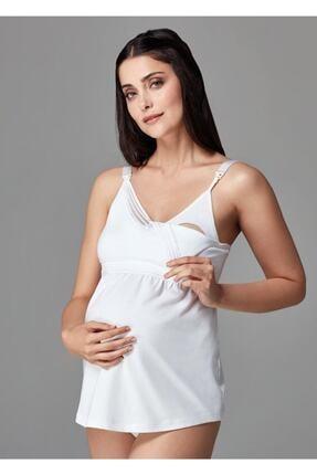 Dagi Kadın Beyaz Lohusa Atleti B0169257