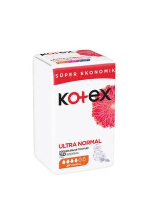 Kotex Ultra Hijyenik Ped Süper Ekonomik Normal 26'lı