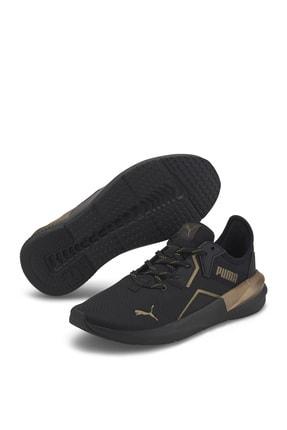 Puma Platinum Metallic Kadın Siyah Spor Ayakkabı 19377301
