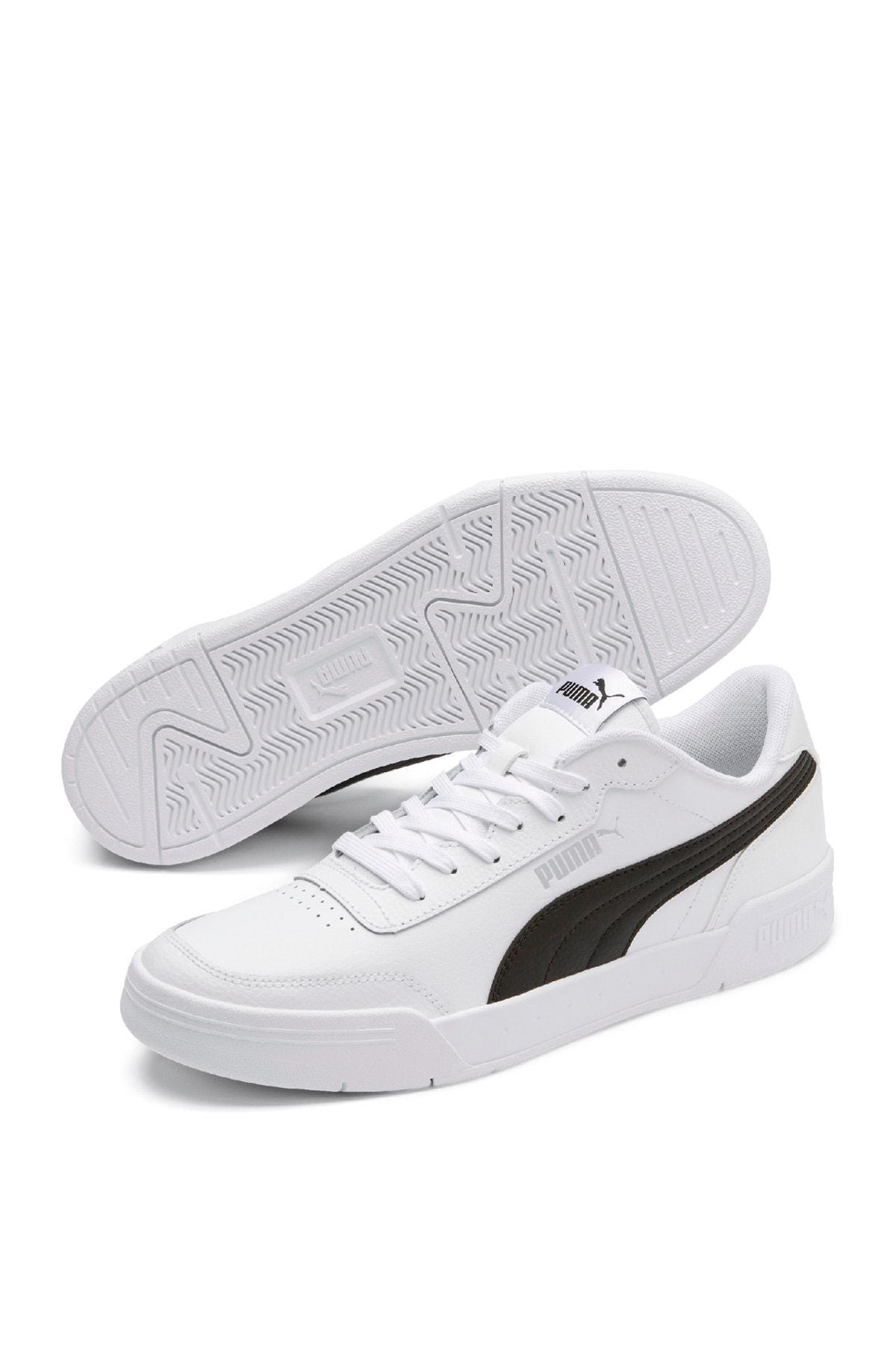 Puma CARACAL Beyaz Erkek Sneaker Ayakkabı 100480292 1