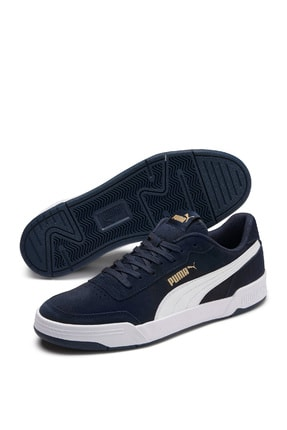 Puma CARACAL SD PEACOAT-PUMA W Lacivert Erkek Sneaker Ayakkabı 101085454