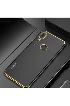 Huawei P Smart 2019 Kılıf Lazer Boyalı Renkli Esnek Silikon Şeffaf