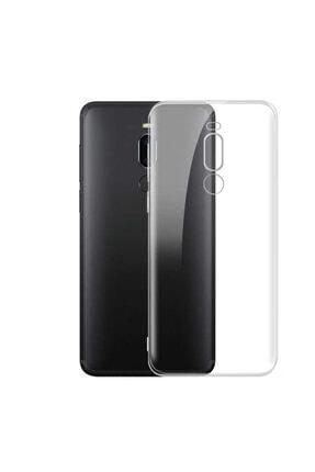 Meizu Note 8 Kılıf Şeffaf Tam Koruma Esnek Süper Silikon Model