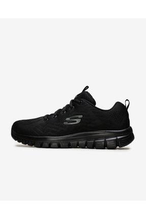 SKECHERS Graceful-Get Connected 12615 Bbk Kadın Siyah Spor Ayakkabı