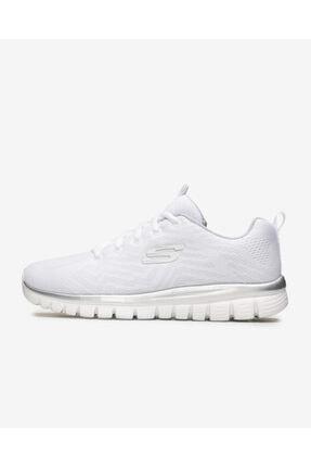 SKECHERS Graceful-Get Connected 12615 Wsl Kadın Beyaz Spor Ayakkabı