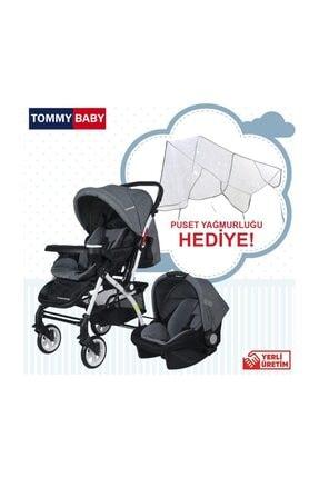 Tommybaby Eagle Travel (Seyahat) Sistem Bebek Arabası Füme /