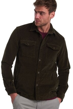 Barbour Erkek Yeşil Cepli Gömlek Ol51