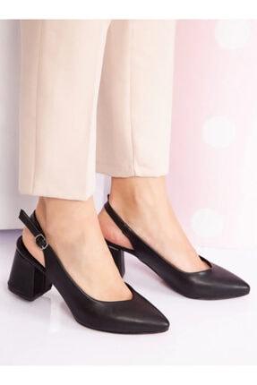 ayakkabıhavuzu Kadın  Topuklu Ayakkabı - Siyah - Ayakkabı Havuzu