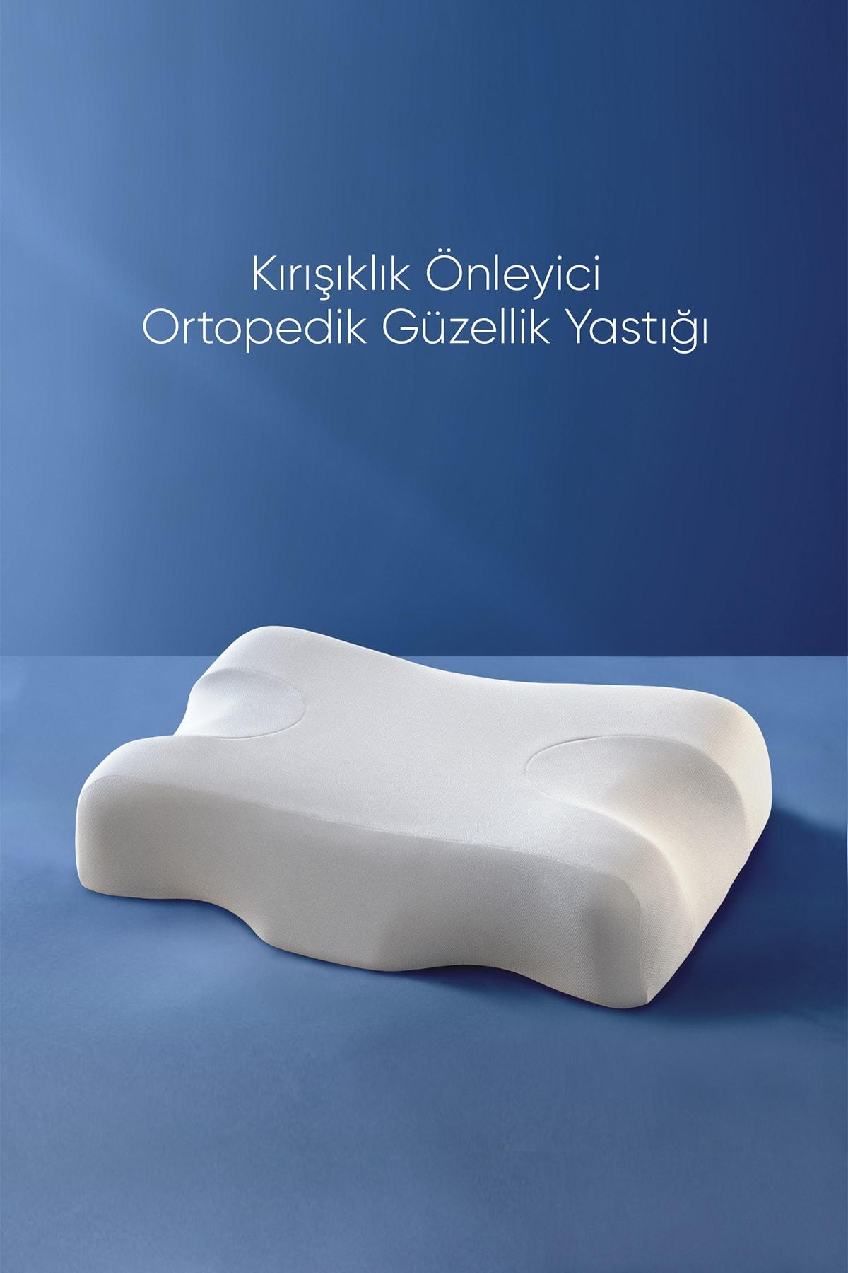Beauty Pillow Kırışıklık Önleyici Ortopedik Güzellik Yastığı 1