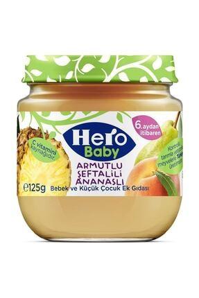 Hero Baby Armutlu Şeftalili Ananaslı Kavanoz Maması