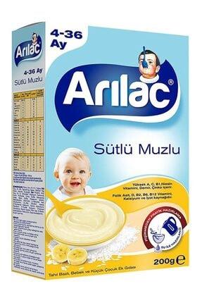 Arılac Sütlü Muzlu Bebek ve Küçük Çocuk Ek Gıdası 200 gr