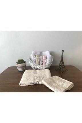 Fiesta Dream Towel 3d Çeyizlik Analı Kızlı Bambu Havlu