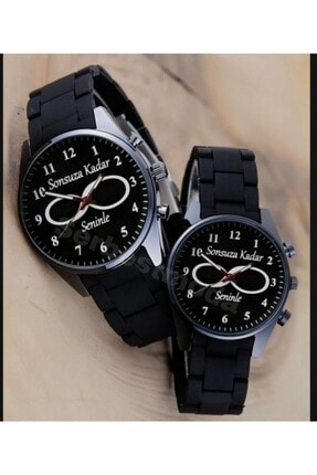 Spectrum Çift Saatleri Sevgiliye Hediye Saat Kombini Erkek Bayan Sevgili Saatleri Sonsuzluk Temalı Kol Saati