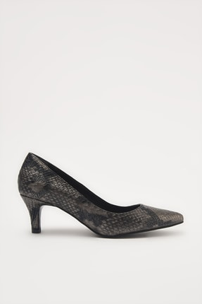 Hotiç Gri  Klasik Topuklu Ayakkabı 01AYH213650A230