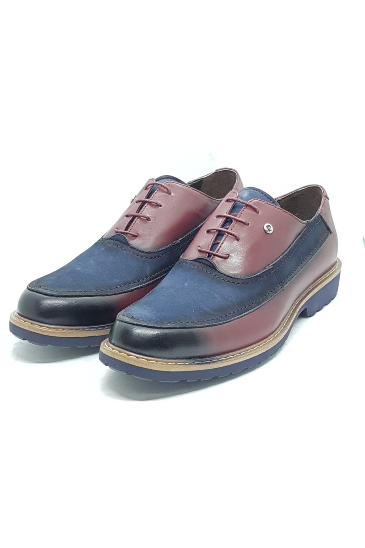 Pierre Cardin Erkek Lacivert Günlük Bağcıklı Ayakkabı 1