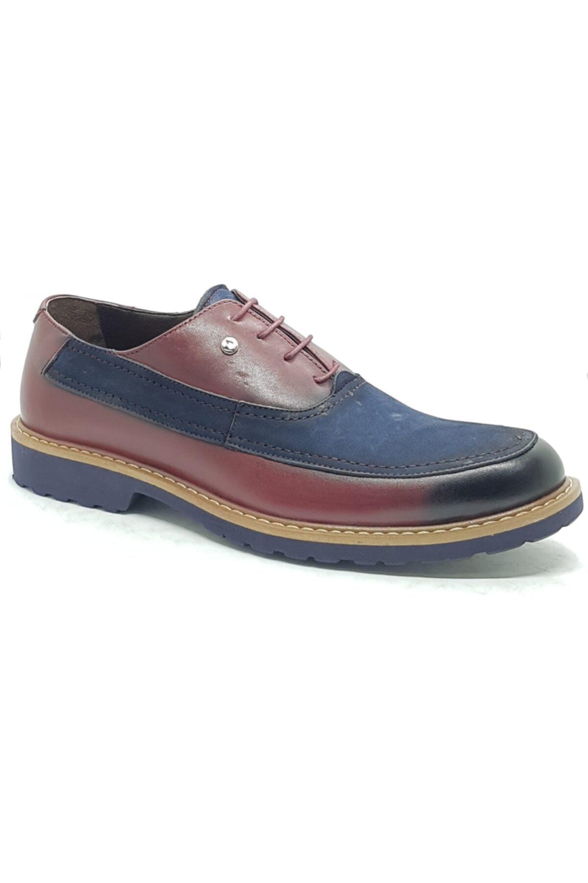 Pierre Cardin Erkek Lacivert Günlük Bağcıklı Ayakkabı 2