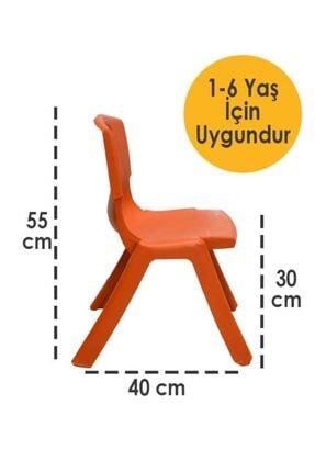 Temel Plastik Kırılmaz Çocuk Sandalyesi - Etkinlik Sandalyesi