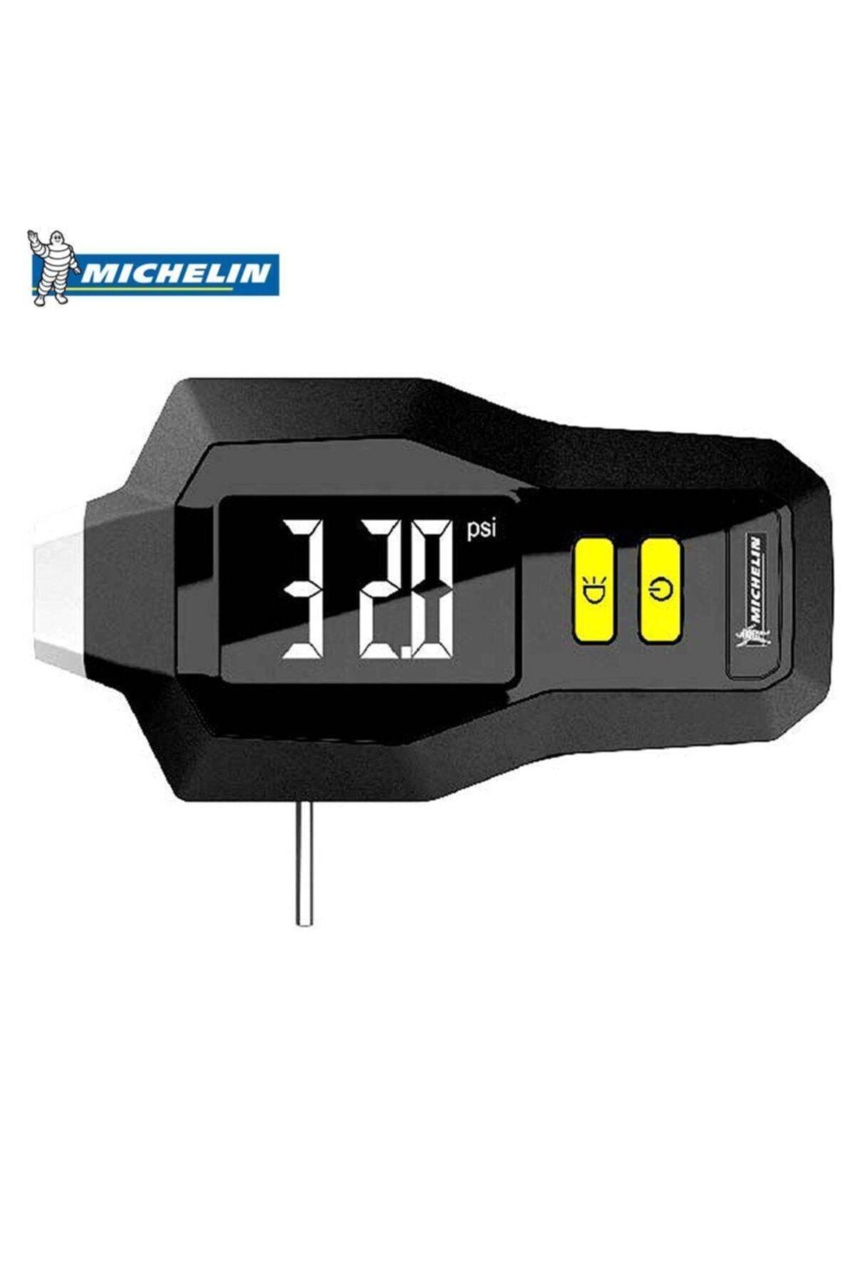 Michelin Mc12293 99psı Dijital Lastik Basınç Ve Derinlik Ölçer 1