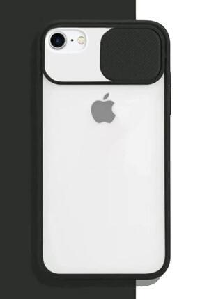 Cimricik Iphone 6 Plus 6s Plus Uyumlu Sürgülü Kamera Korumalı Silikon Kılıf