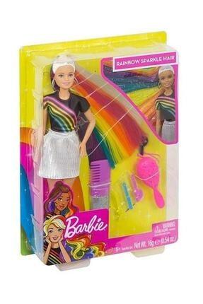 Barbie Gökkuşağı Renkli Saçlar Bebeği