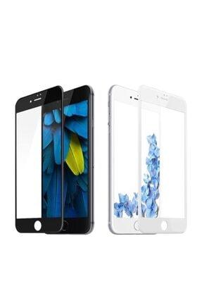 Concord Siyah   Iphone 6 Plus / 5d Kavisli Sert Kırılmaz Ekran Koruyucu
