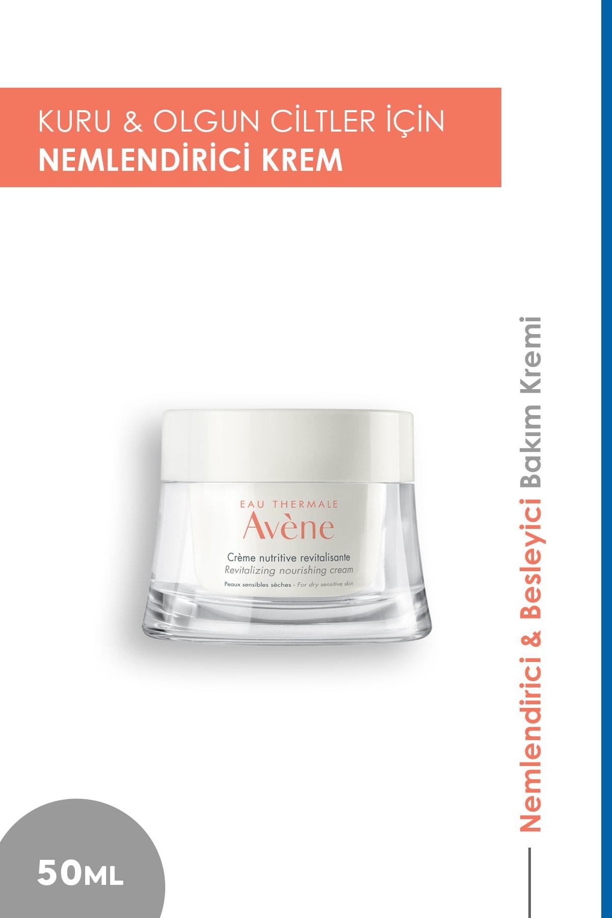 Avene Kuru Ciltler Için Nemlendirici -Creme Nutritive Revitalisante 50 ml 3282770209402 1