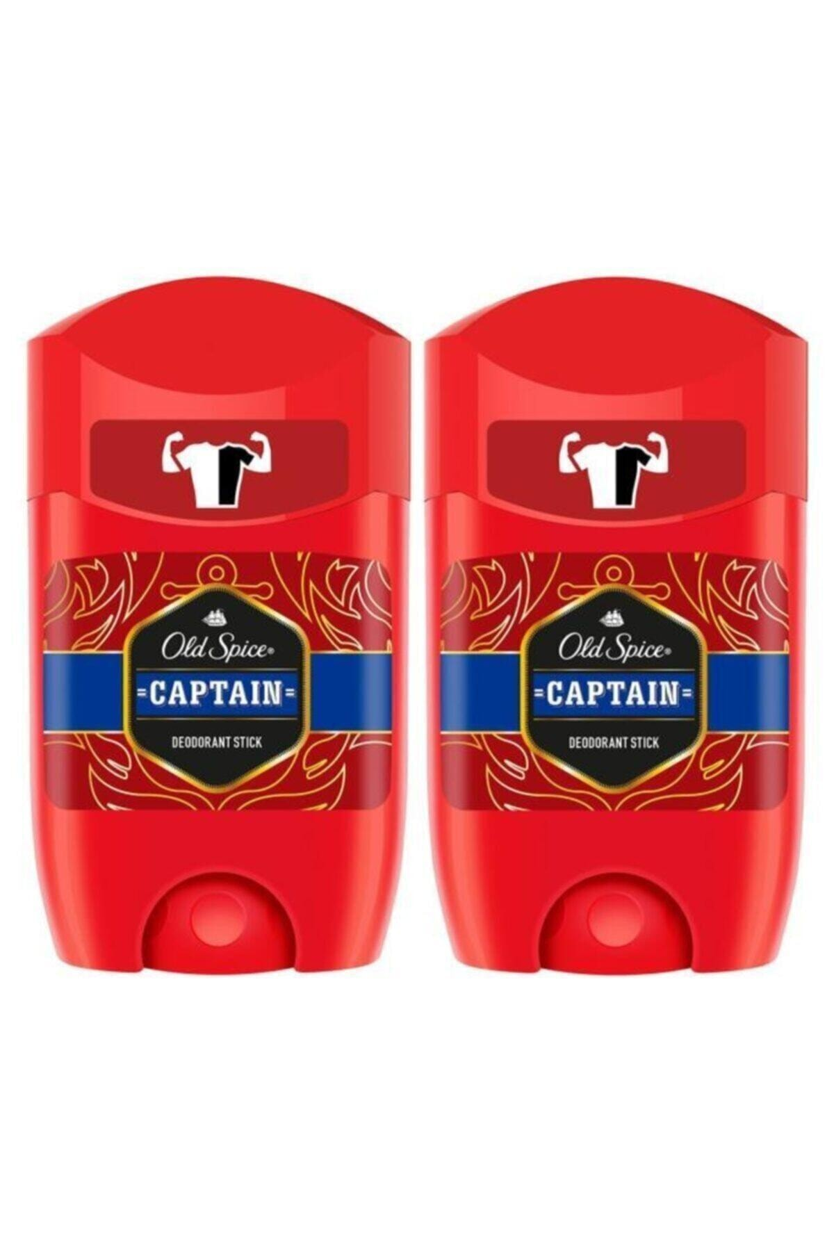 Old Spice Deo Stick 50 ml Captain X 2 Adet 2