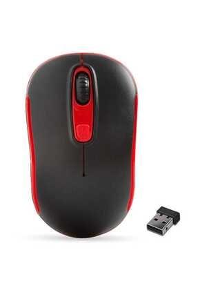 Everest Sm-804 Usb Siyah-kırmızı 800-1200-1600dpi Kablosuz Mouse