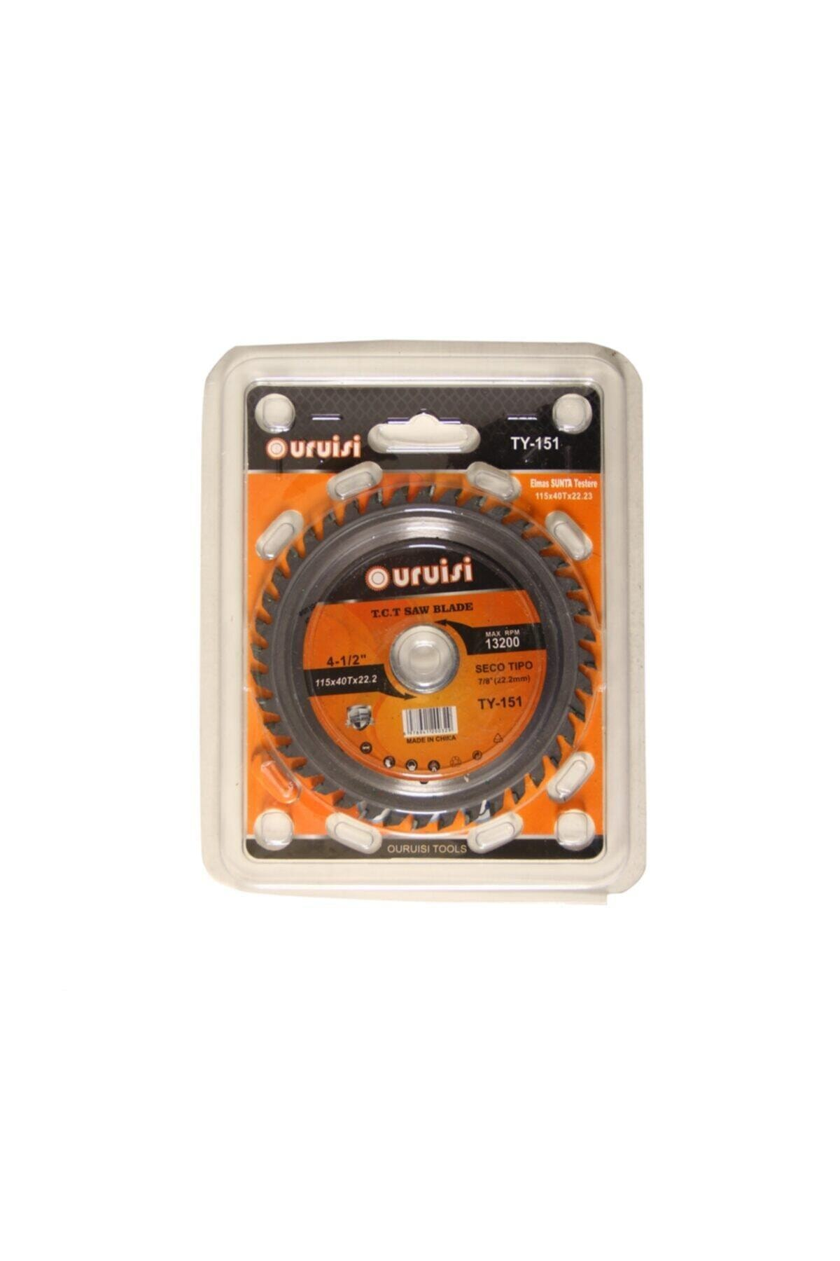 Meşem 115 Lik Mermer Ahşap Granit Demir Fayans Kesme Disk Seti 2