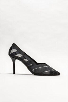 Elle Shoes Kadın Siyah Stiletto