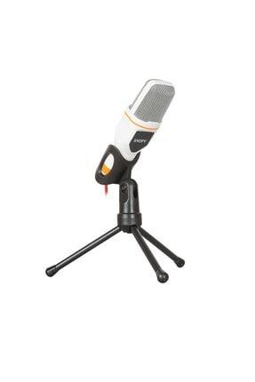 Snopy Sn-340m Beyaz Masaüstü Mikrofon
