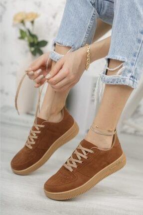 Moda Frato Unisex Kahverengi Sneaker