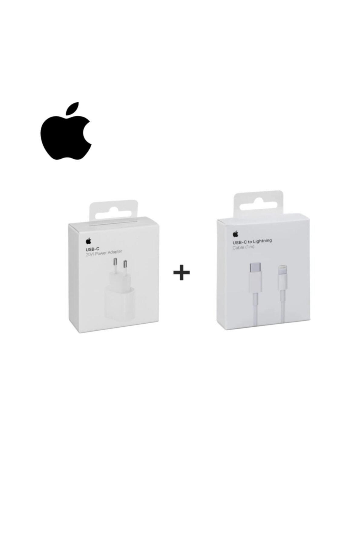 Appleline Macbook Ipad Iphone 11 / 12 - Pro Max Mini Uyumlu 20w Adaptör Kablo Usb-c Pd Hızlı Şarj Aleti 1