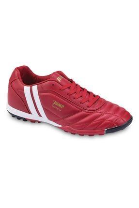 Jump Erkek Çocuk Kırmızı Halı Saha Ayakkabı Krampon 190 13258G