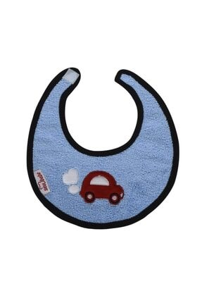 Sevi Bebe Küçük Havlu Önlük Art-21 Mavi
