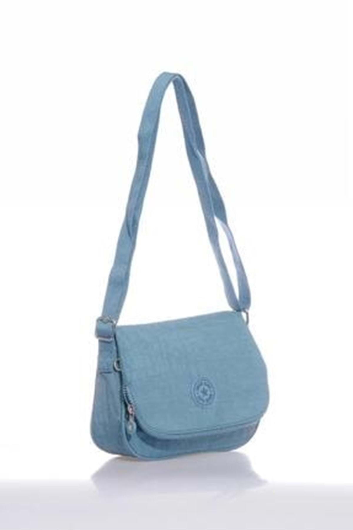 SMART BAGS Kadın  Buz Mavi Omuz Çantası 3056 2