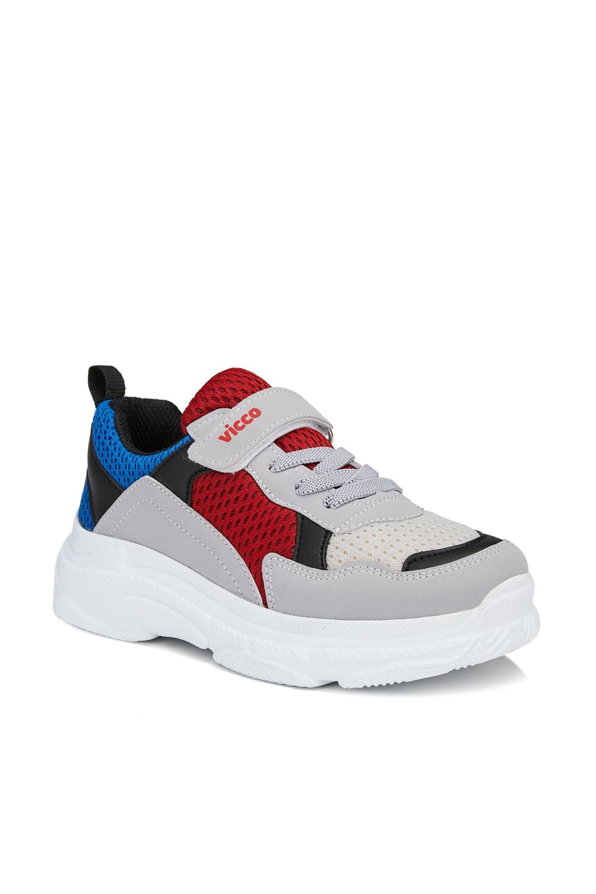 Vicco Alto Unisex Çocuk Gri Spor Ayakkabı 1