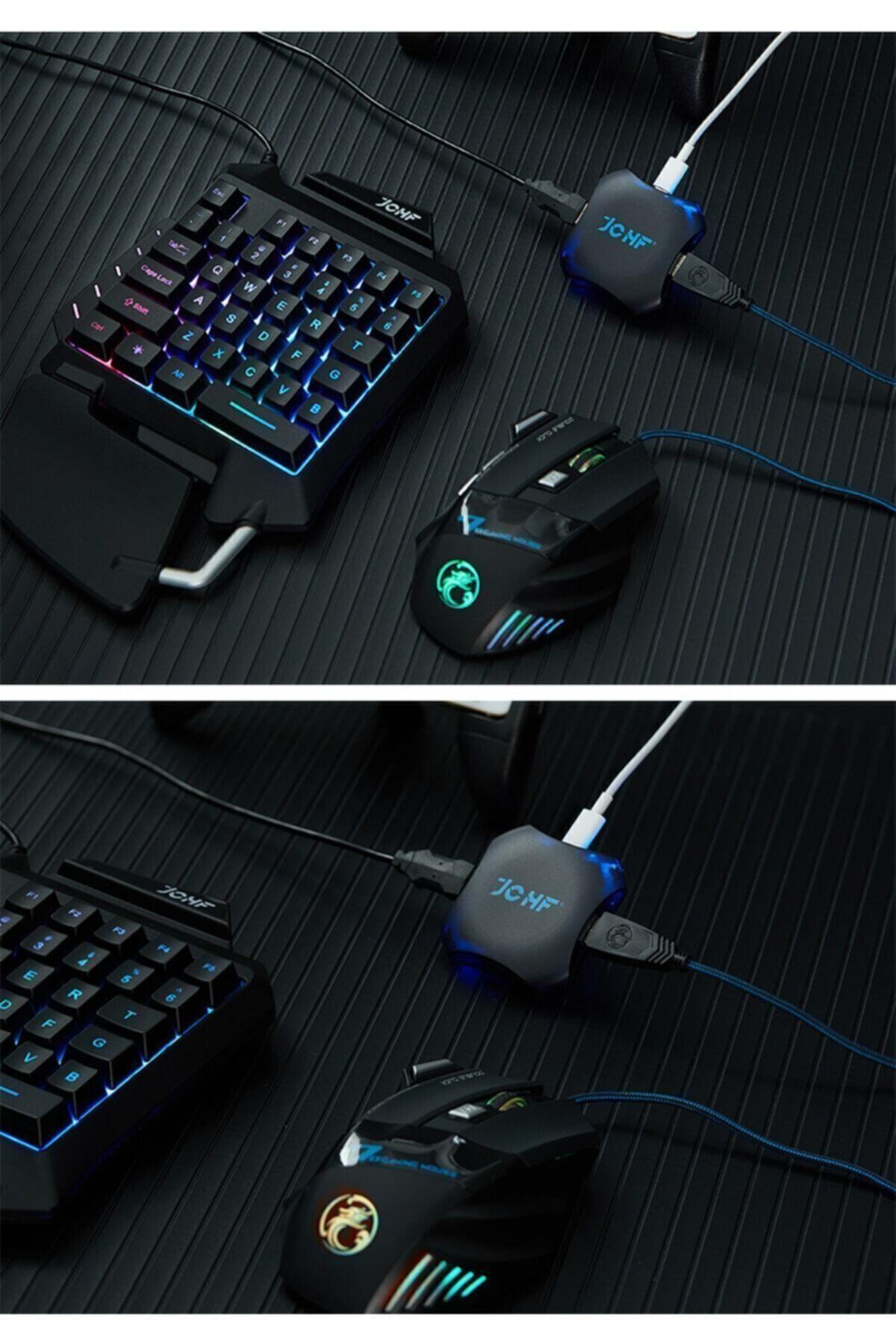 Gate Pubg Oyun Konsolu 3in1-klavye Mouse Bağlayıcı 3 Lü Set Mükemmel Kontrol Pubg Anlaşmalı Pubgset 2