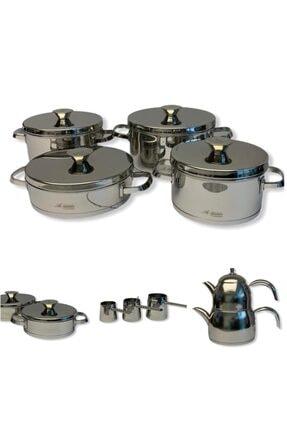 Aryıldız 20 Parça Lilyum Prestıge Steel Kapak Ideal Set