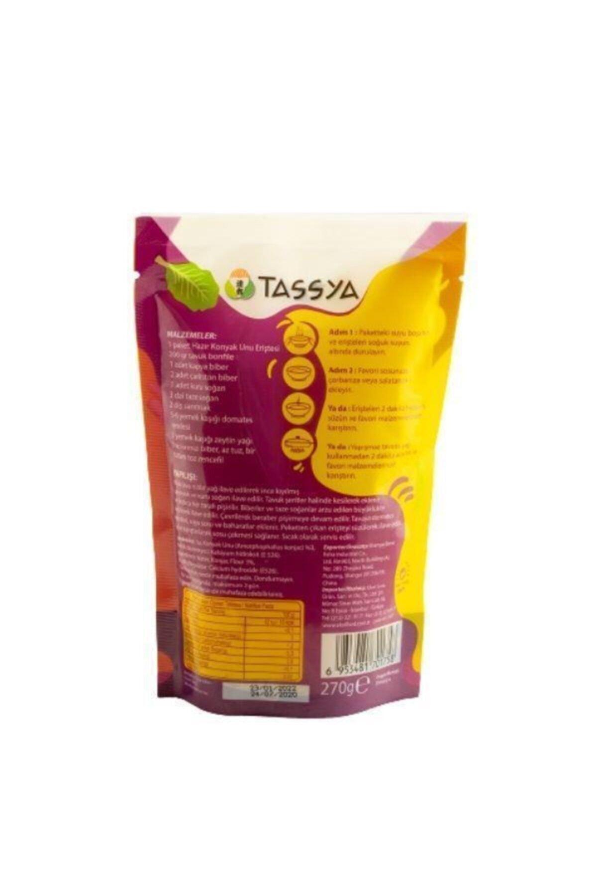 Tassya Shirataki (konjac) Noodle 270 G*10 Adet 2