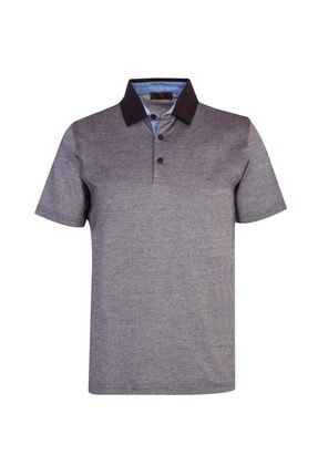 Kiğılı Polo Yaka Regular Fit Tişört