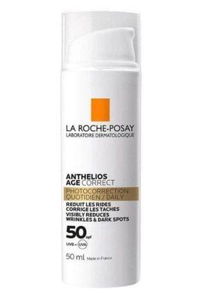 La Roche Posay Anthelios Age Correct Cream Spf50 50ml | Leke Ve Kırışıklık Karşıtı Güneş Kremi