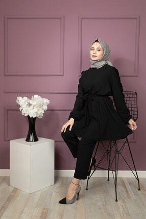 lamelif store Kadın Siyah Takım