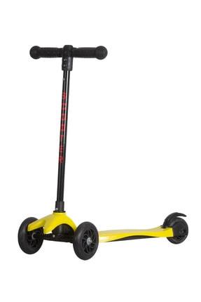 Scooter Scoo-bee Üç Tekerlekli , Frenli , Yükseklik Ayarlı Sarı - Çocuk